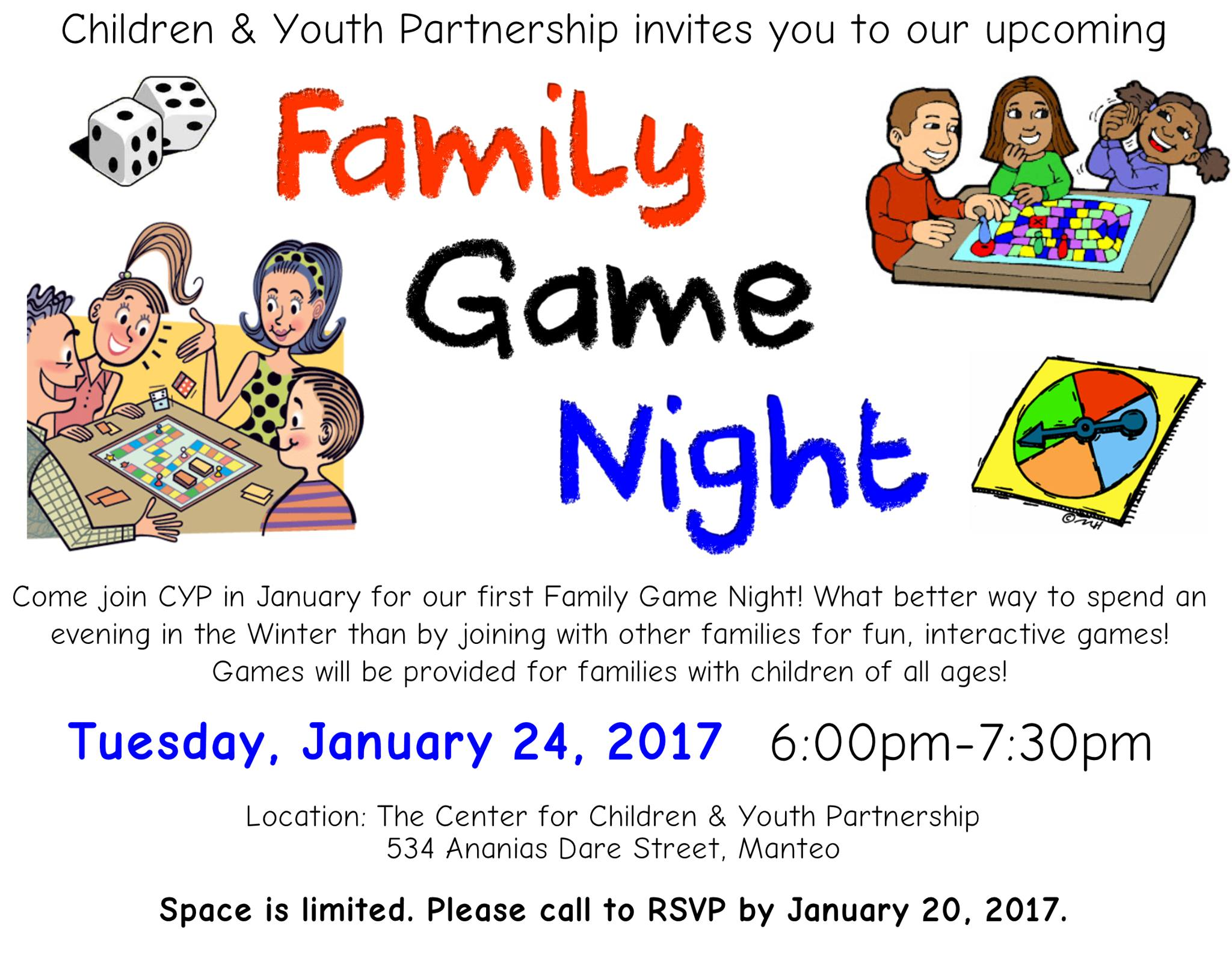 CYP Family Game Night