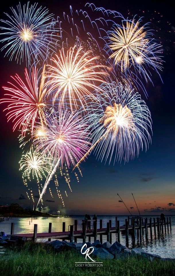 Fireworks, Music, Melon and More for the 4th of July on the
