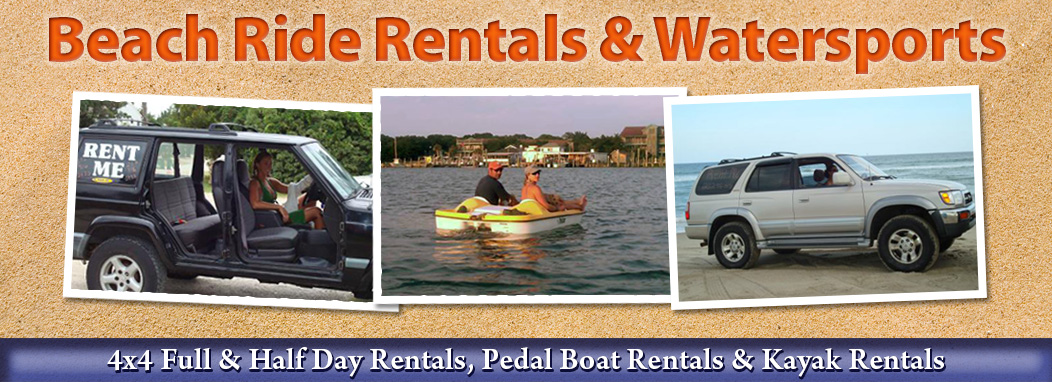 Ocracoke Beach Ride X Rentals