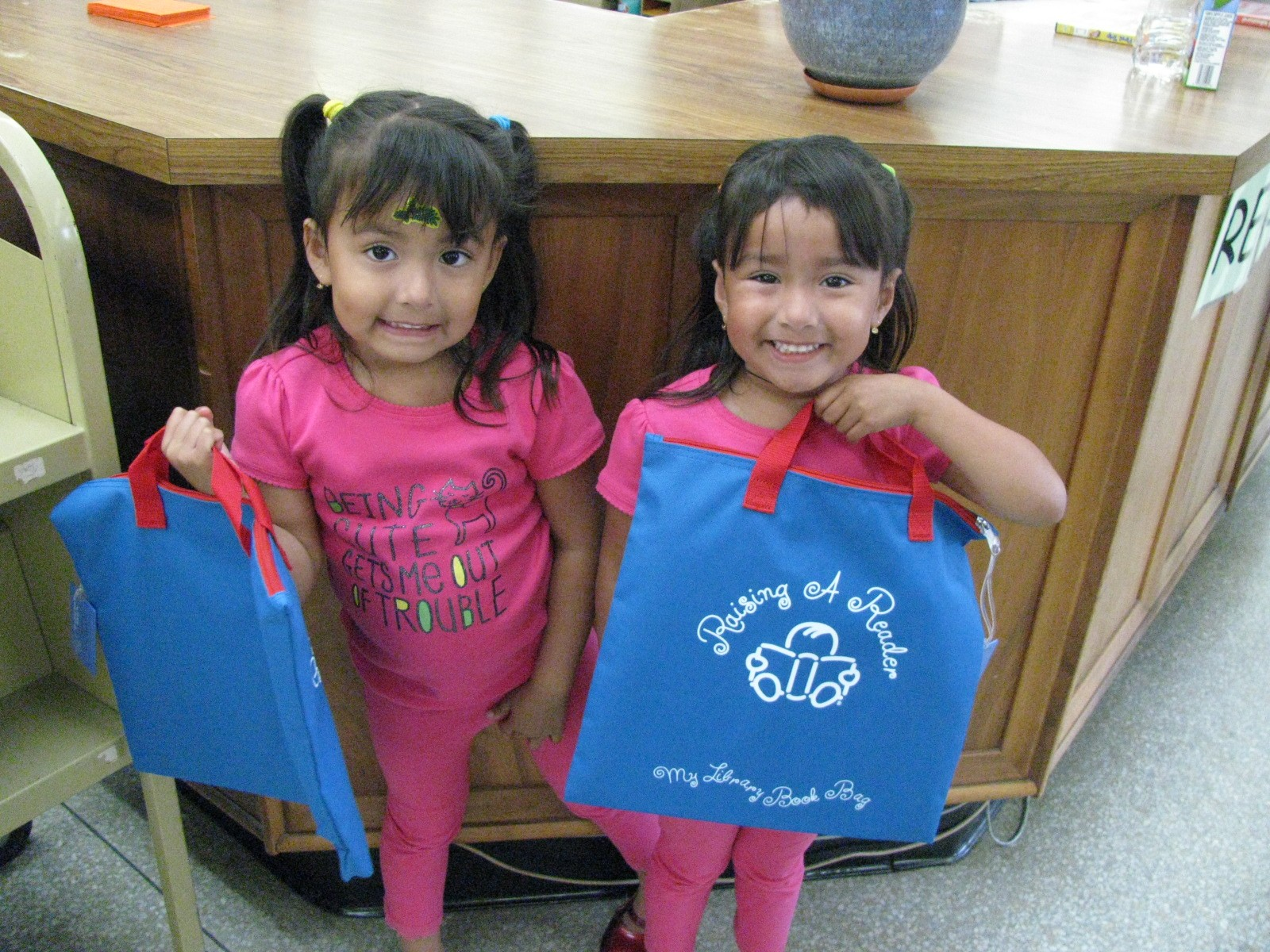 Children at Raising a Reader Event