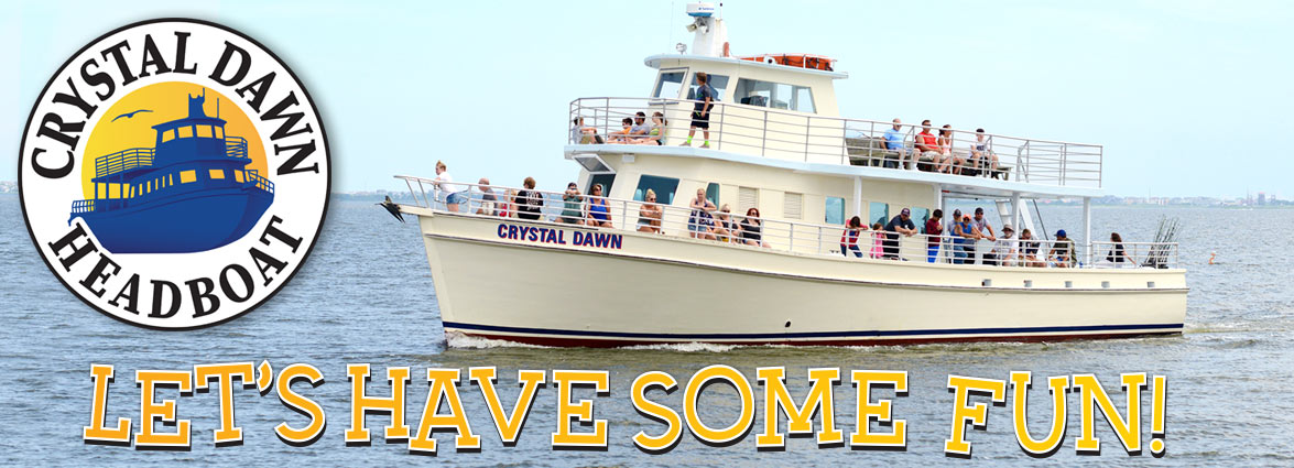 Crystal Dawn Head Boat Fishing and Sunset Cruise