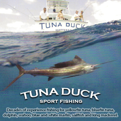Location tuna duck sportfishing outer banks nc for Fishing in duck nc