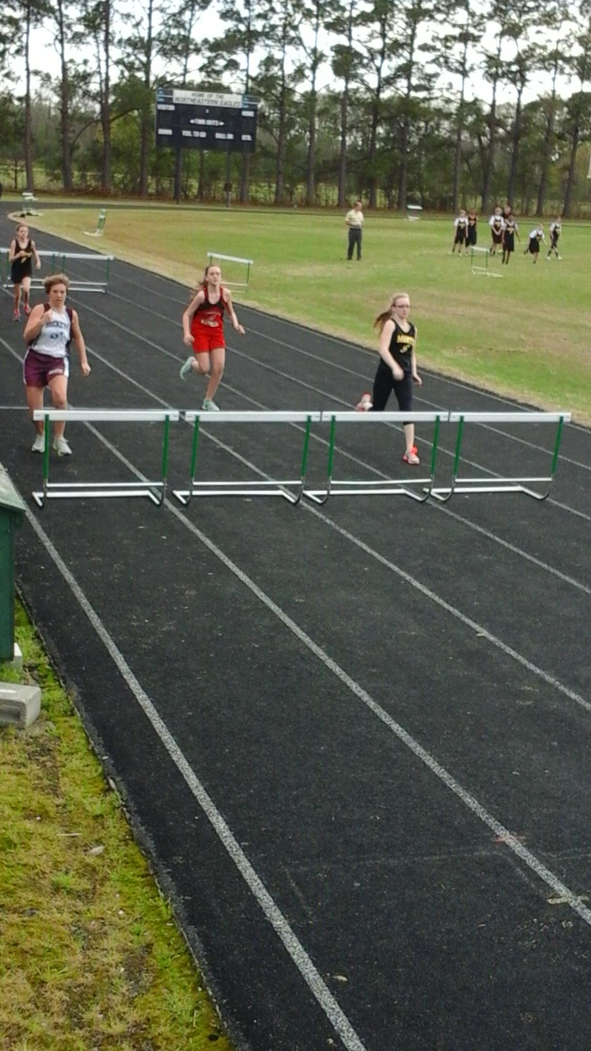 manteo middle school track meet