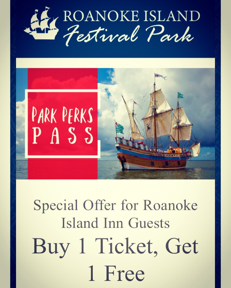 Roanoke Island Festival Park Perks Pass Special Offer