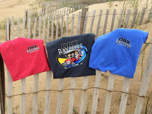 OBX Beach Buggies Tee Shirts