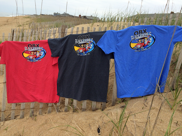 OBX Beach Buggies Tee Shirts