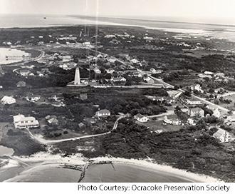Ocracoke Island in 1960s