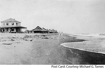 Nags Head Cottage Line in early 1900s