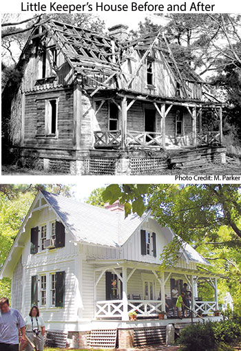 Corollas Little Keepers House Before and After