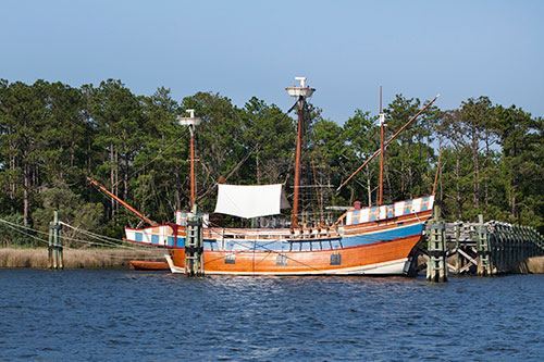 Manteo NC Roanoke Island Festival Park