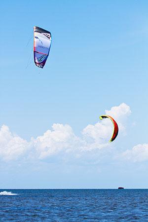Rodanthe NC Kite-boarding