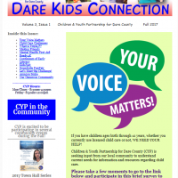 Children and Youth Partnership, Dare Kids Connection - Fall 2017