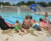Lap Lanes & Water Slide - YMCA Water Park