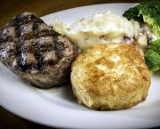 Crabcake And Center Cut Filet Mignon - The Oceanfront Grille