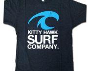 Kitty Hawk Surf Co.tri-blend Vintage Mens Crew Tee - Kitty Hawk Surf Co.