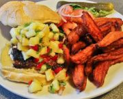 Grilled Mahi Sandwich - Outer Banks Brewing Station