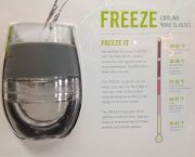 Freeze, Cooling Wine Glasses - Island Spice & Wine