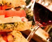 Mozzarella and Tomato Panini - Trio Wine & Cheese