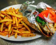 Gyro Sandwich - Barefoot Bernie's Tropical Grill & Bar