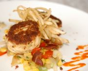 Crab Cake Sliders - Avenue Waterfront Grille