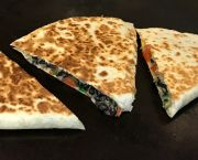 Black Bean Quesadilla - Viva Mexican Grille