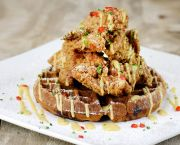 Hippie Chicken 'n Waffles - Rooster's Southern Kitchen