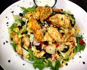 Santa Fe Chicken Salad - Barefoot Bernie's Tropical Grill & Bar