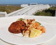Outer Banks Seafood Sampler - Peppercorns Restaurant and Lounge