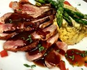 Pan Seared Maple Leaf Breast of Duck - Argyle's Sea Salt Grille