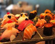 Silver Sushi Platter - Single Fin Bistro Bar & Grille Outer Banks