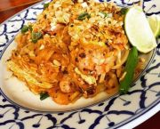 *spicy Thai Noodles (Pad Thai) - Thai Room Restaurant OBX