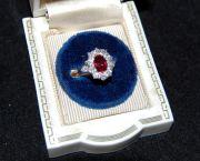 Ruby and Diamond Ring - Muzzie's Fine Jewelry & Gifts