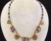 1850's Czechoslovakian Necklace - Muzzie's Fine Jewelry & Gifts