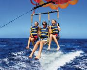 Triple Parasail Flights - Causeway Watersports, Nags Head Outer Banks