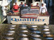 Oregon Inlet Fishing Center, Limits of Yellow Fin Tuna Plus Plus Plus!!!