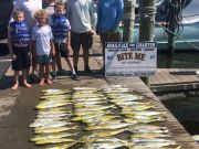 Bite Me Sportfishing Charters, Dolphin action with the kiddos
