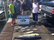 Reliance Hatteras Fishing Charters, Reliance wahoos