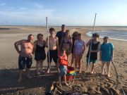 Reliance Hatteras Fishing Charters, Hatteras Inlet clamming trip