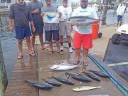 Tuna Duck Sportfishing, Squalls and Building Seas
