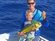Tuna Duck Sportfishing, Mahi on a Slow Day