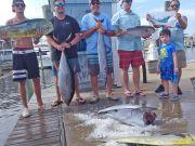 Tuna Duck Sportfishing, Good Fishing For the Splisgardt Family