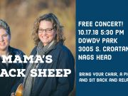 Mama's Black Sheep Free Concert