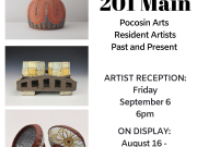 Pocosin Arts School of Fine Craft, Reception for 201 Main