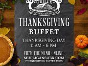 Mulligan's Grille, Mulligan's Thanksgiving Buffet