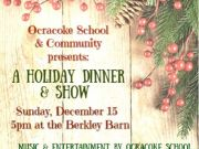 OBX Events, Ocracoke School & Community Holiday Show