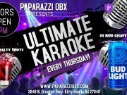 Paparazzi OBX Bar & Live Concert Venue, Ultimate Karaoke