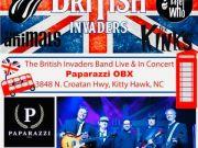 Paparazzi OBX Concert & Event Venue, The British Invaders