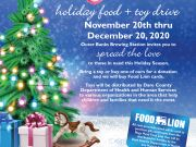 Outer Banks Brewing Station, Spread the Love - Holiday Food & Toy Drive