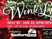 Elizabethan Gardens, WinterLights by Southern Bank