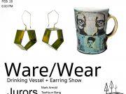 Pocosin Arts School of Fine Craft, Ware/Wear: Drinking Vessel and Earring Show
